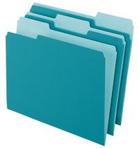 Top Tab File Folders, Item Number 072863