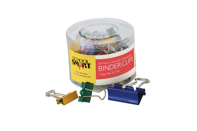 Binder Clips, Item Number 075210