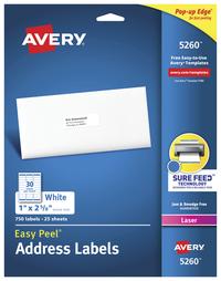 Address Labels, Item Number 075635
