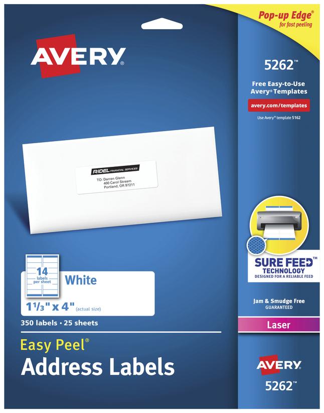 Address Labels, Item Number 075638