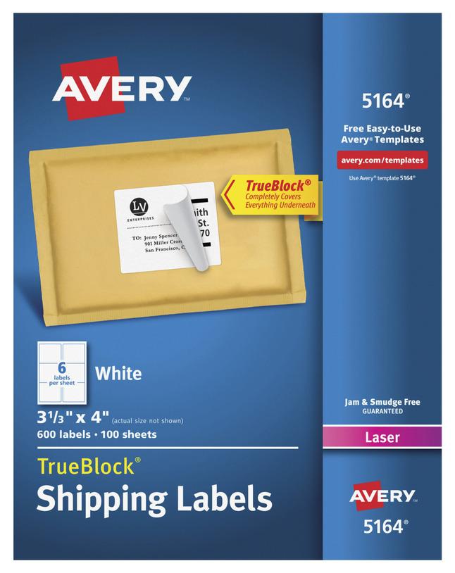 Address Labels, Item Number 075639