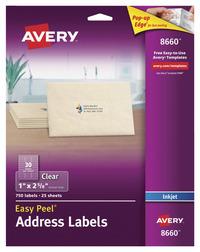 Address Labels, Item Number 075644