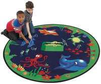 Kids Animal and Nature Rugs Supplies, Item Number 076026