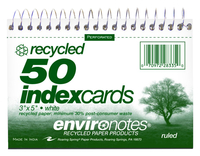 Index Card Binders, Item Number 076041