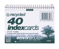 Index Card Binders, Item Number 076042