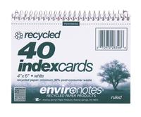 Index Card Binders, Item Number 076042