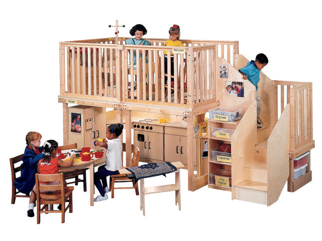 Wooden Lofts, Kids Lofts and Play Lofts Supplies, Item Number 076654