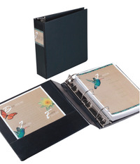 Heavy Duty D-Ring Reference Binders, Item Number 077046