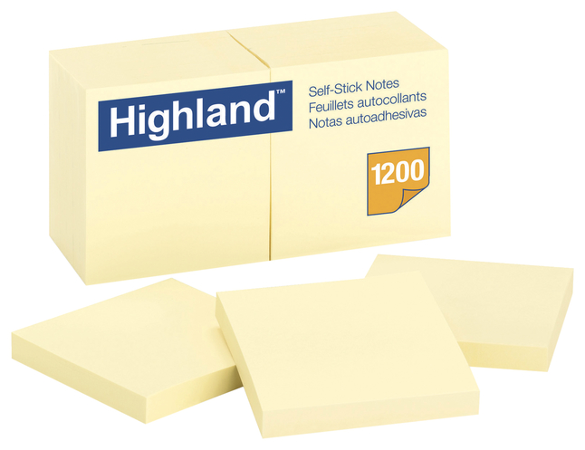 Sticky Notes, Item Number 077320