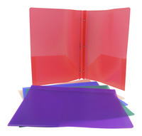 Poly 2 Pocket Folders, Item Number 077665