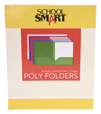 Poly 2 Pocket Folders, Item Number 077666