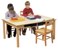 Childcraft Classroom Desk Table, Laminate Top, 36 x 48 x 28 Inches Item Number 078171