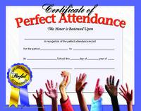 Award Certificates, Item Number 078286
