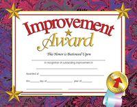 Award Certificates, Item Number 078299