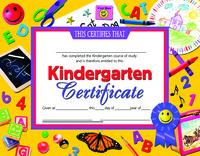 Award Certificates, Item Number 078301