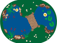 Kids Animal and Nature Rugs Supplies, Item Number 078450