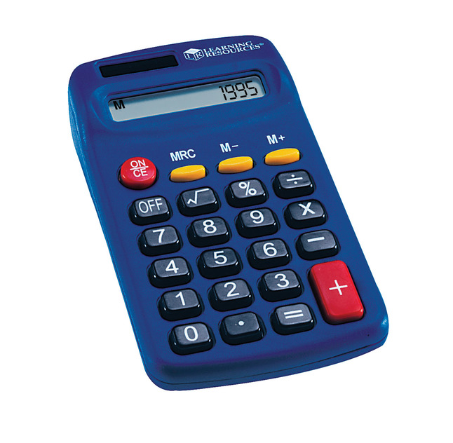 Basic and Primary Calculators, Item Number 078667