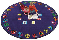 Circle Time Rugs and Dot Rugs Supplies, Item Number 078923