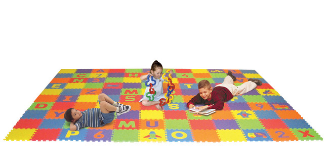 Early Childhood Floor Puzzles, Item Number 079653