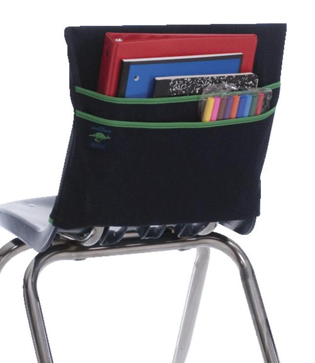 Aussie Pouch Machine Washable Double Chair Pocket 1712 in Denim