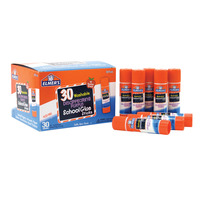 Elmer's Glue Stick Classroom Pack, 0.24 Ounce, Disappearing Purple, Pack of 30 Item Number 081455