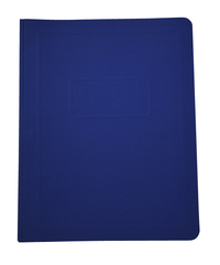 School Smart Report Cover, 3 Hole Fasteners, 8-1/2 x 11 Inches, Blue, Pack of 25 Item Number 081915