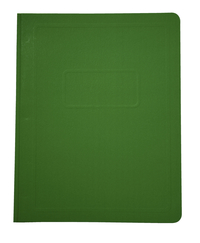 School Smart Report Cover, 3 Hole Fasteners, 8-1/2 x 11 Inches, Green, Pack of 25 Item Number 081916