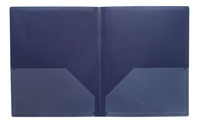 Poly 2 Pocket Folders, Item Number 081923