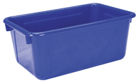 School Smart Tote Tray, 12 x 8 x 5 Inches, Blue Item Number 081941