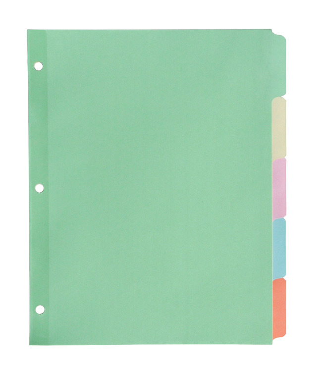 Tab Dividers, Item Number 081942