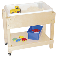 Wooden Sand Table, Wooden Water Table and Sand Table Supplies, Item Number 082014