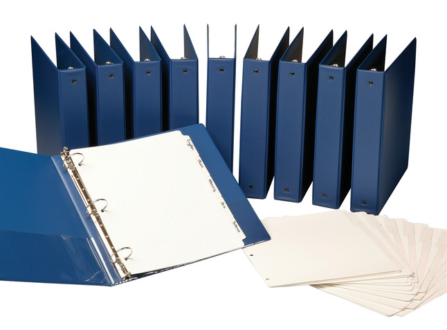 Tab Dividers, Item Number 082112