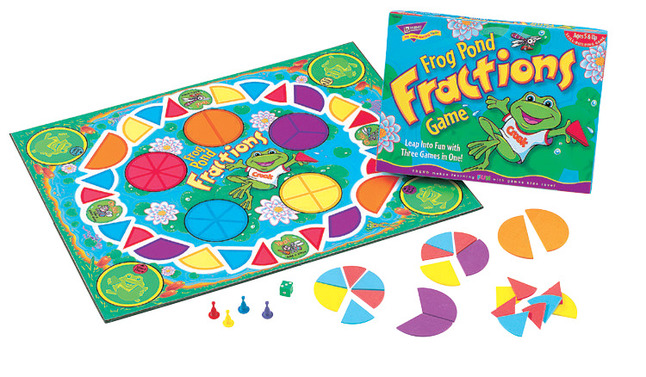 Fraction Games, Books, Activities, Fraction Books, Fraction Activities Supplies, Item Number 082402