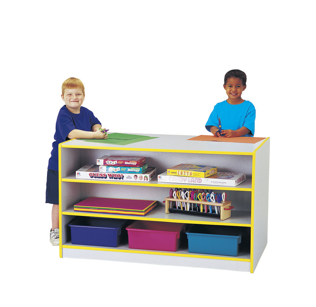 Double Sided Shelves and Cabinets Supplies, Item Number 082448