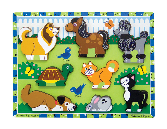 Early Childhood Chunky Puzzles, Item Number 082692