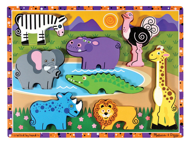 Early Childhood Chunky Puzzles, Item Number 082694