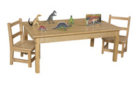 Kids Wood Table, Kids Wood Tables, Wood Tables Supplies, Item Number 082837