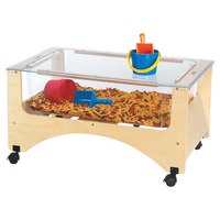 Wooden Sand Table, Wooden Water Table and Sand Table Supplies, Item Number 084745