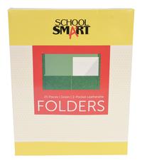 2 Pocket Folders, Item Number 084882
