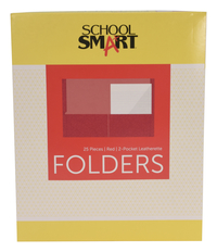 2 Pocket Folders, Item Number 084895