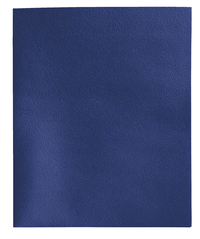 School Smart Folder with Fasteners, 2-Pocket, Dark Blue, Pack of 25 Item Number 084902