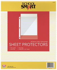 Sheet Protectors, Item Number 084904