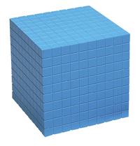 Base 10 Blocks, Place Value, Base 10, Base 10 Math Supplies, Item Number 084954