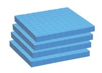Base 10 Blocks, Place Value, Base 10, Base 10 Math Supplies, Item Number 084952