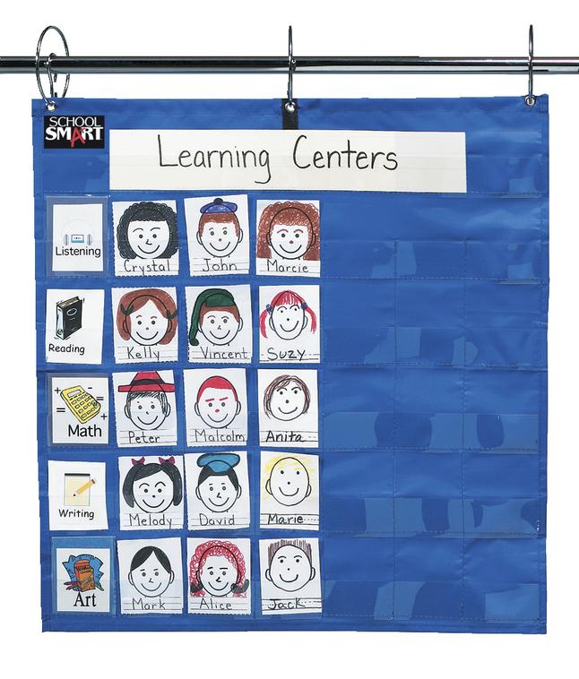 Classroom Management Charts, Classroom Management Systems, Classroom Calendar Pocket Charts, Item Number 085126