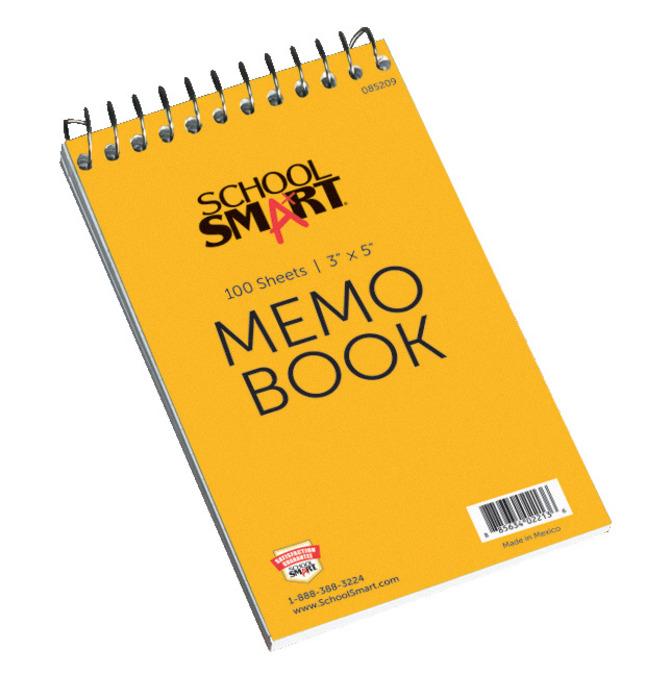 Memo Notebooks, Item Number 085209