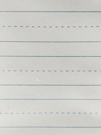 Lined Paper, Primary Ruled Paper, Item Number 085216