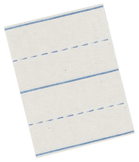 Lined Paper, Primary Ruled Paper, Item Number 085217