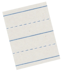 Lined Paper, Primary Ruled Paper, Item Number 085218