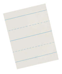 Lined Paper, Primary Ruled Paper, Item Number 085219